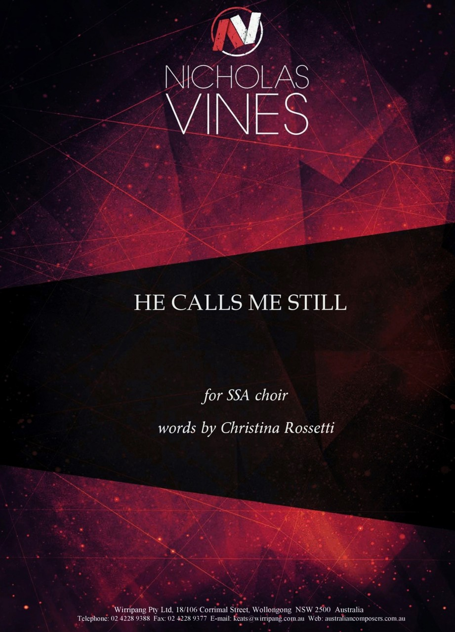 Nicholas Vines_He Calls Me Still_front cover_Oct 14-page-0